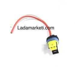 Lada Vega + Enj. Samara + Niva Motor Sıcaklık Müşiri(Sensörü) Soketi, Kablosu